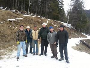 Brad Fuller,Jack Fjoyd,Jay Colley,Dan Danforth,Brent Cairney and Brian Cairney